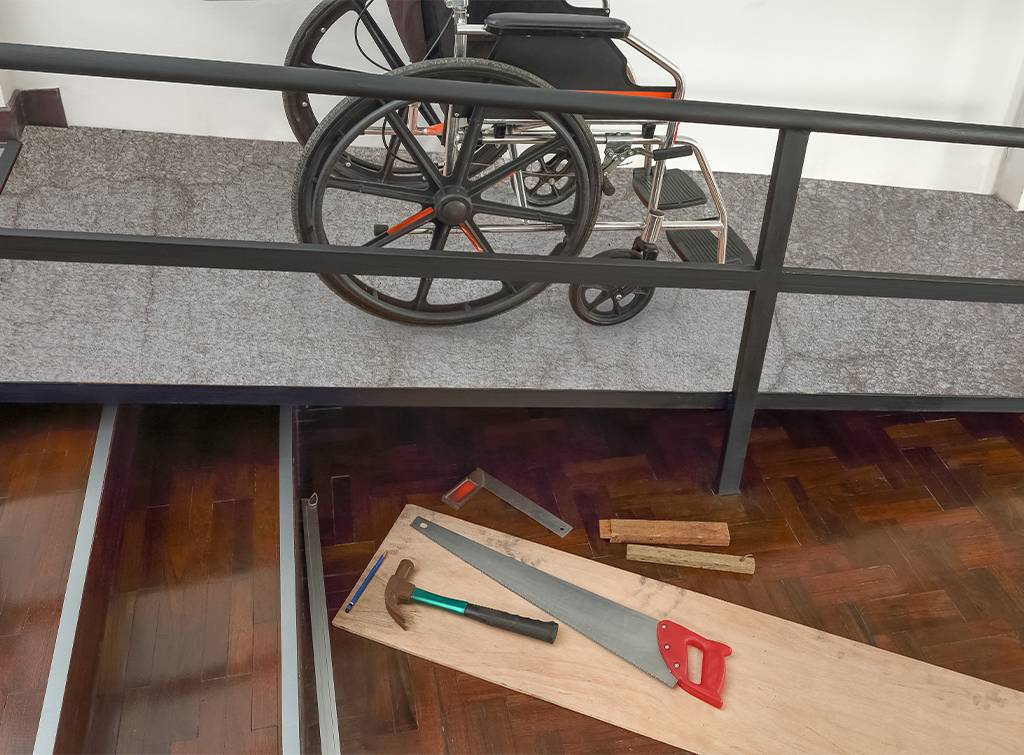 wheelchair ramp installation cost
