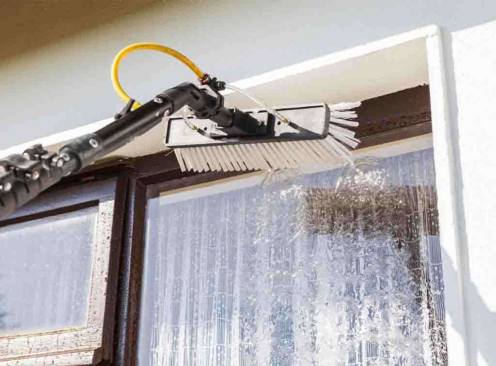 Water fed pole window cleaning cost