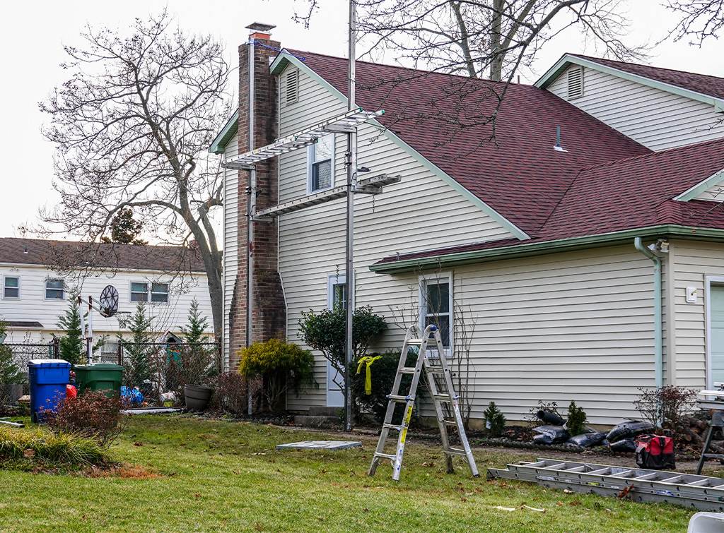 Chimney removal cost and process