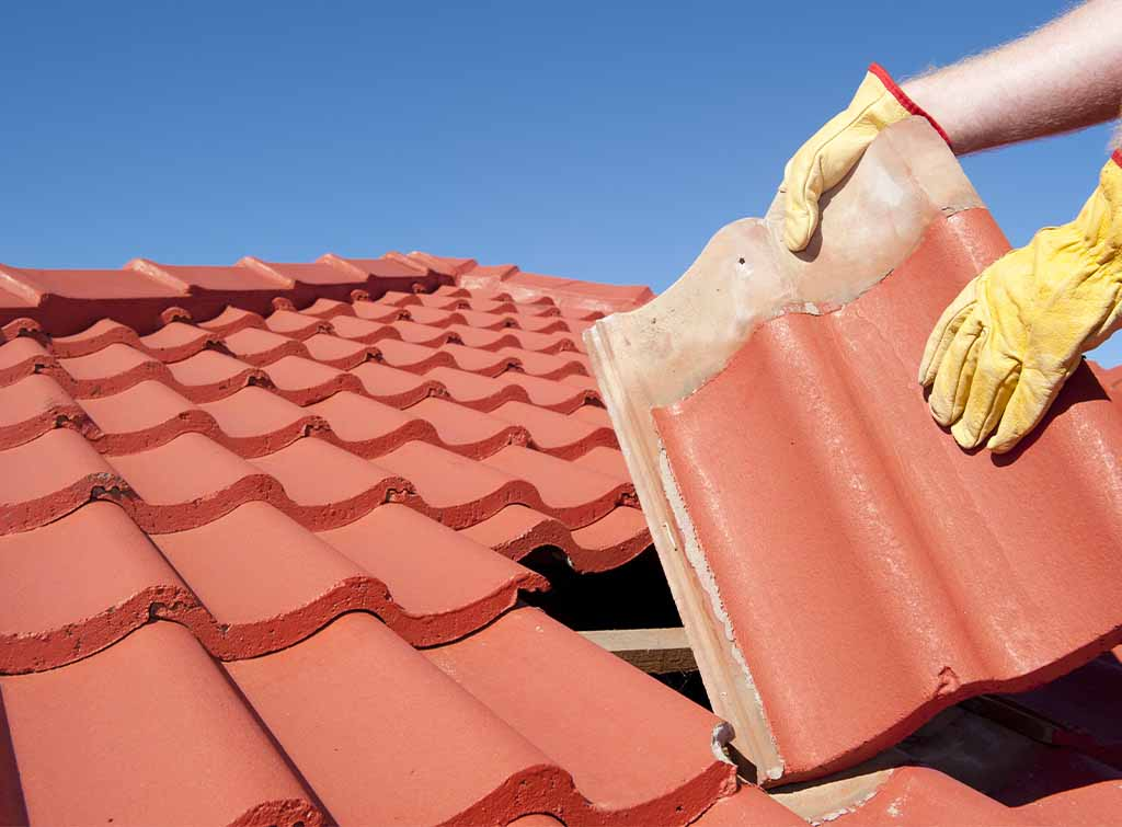 roof tile replacement cost