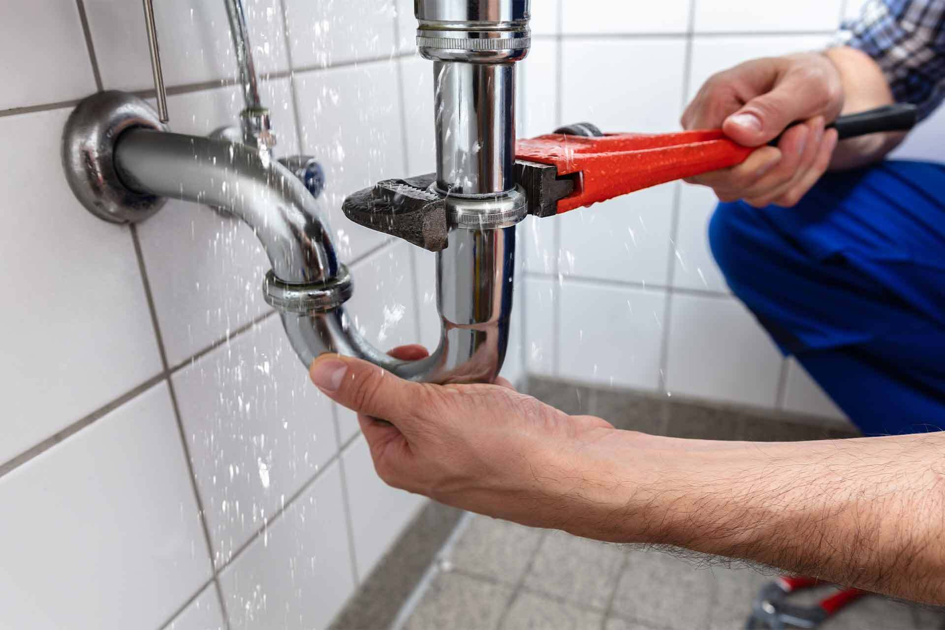 plumber rates fixing sink pipe