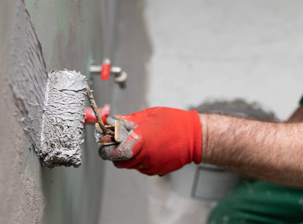 Damp proofing costs for interior walls