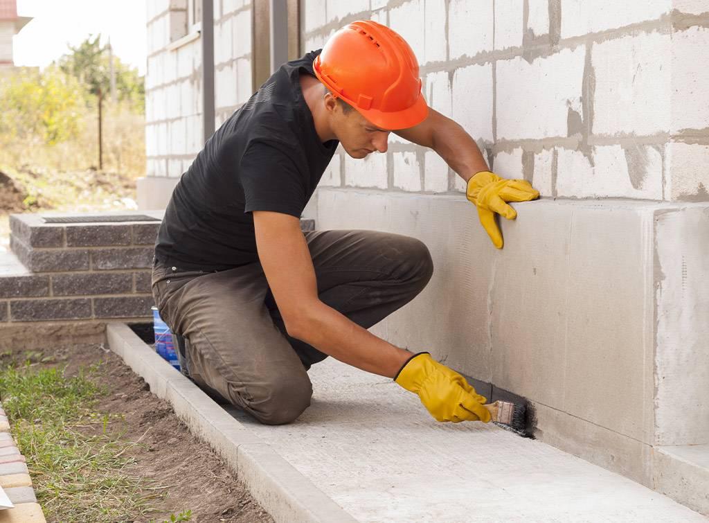 Damp proofing external walls cost