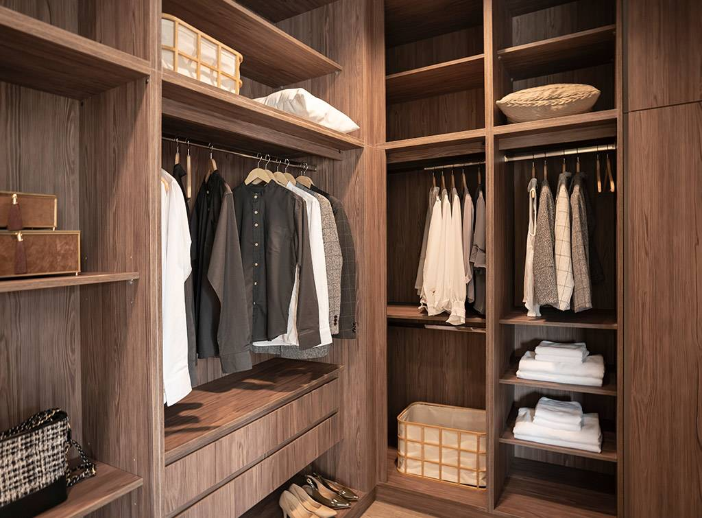 Cost to fit out walk in wardrobe