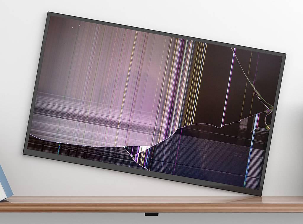 Cracked tv screen repair cost