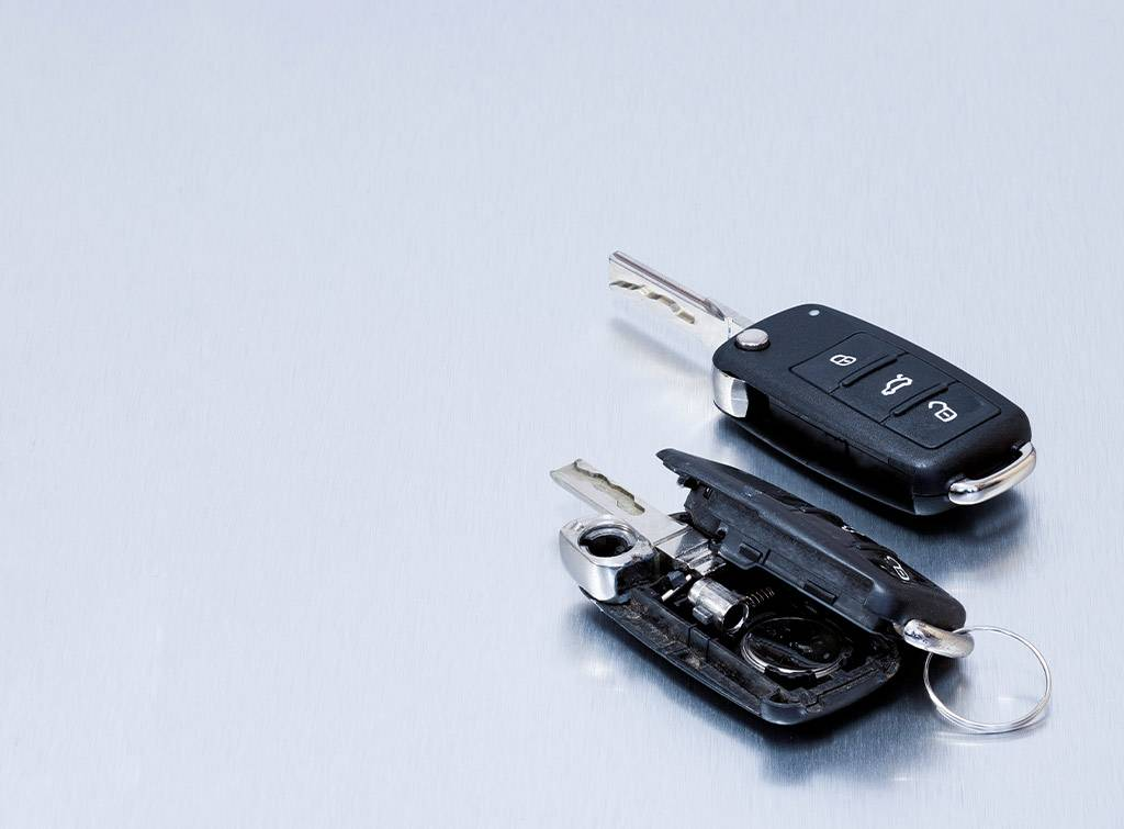 Remote car key replacement cost