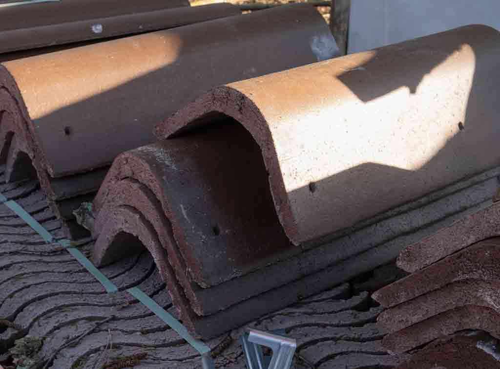 Concrete ridge tiles price