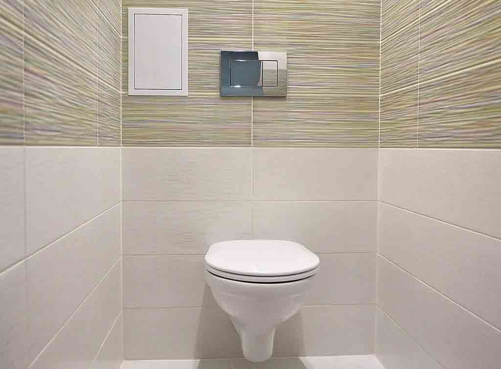 Cost of downstairs toilet modern design