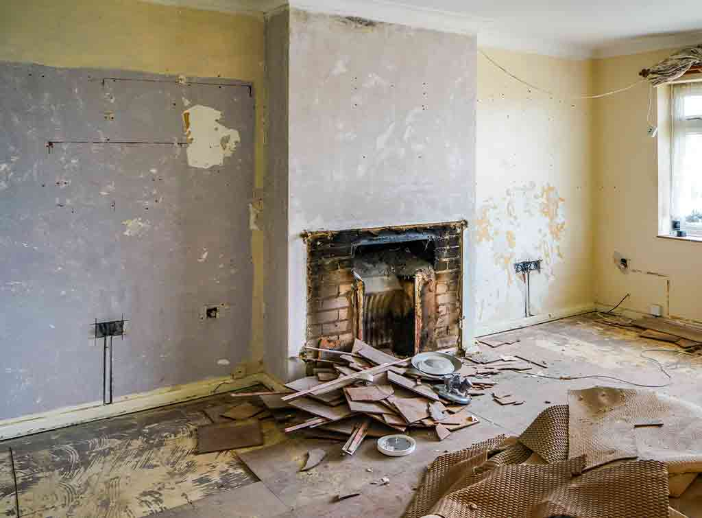 Cost of removing a gas fireplace