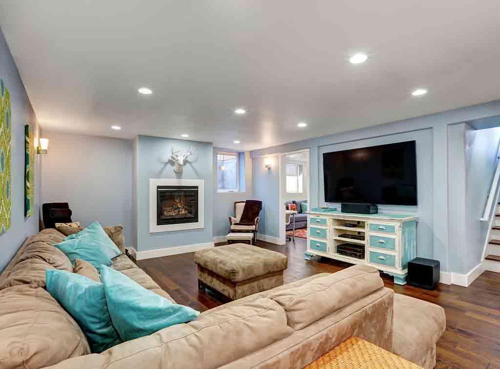 Modern basement conversion cost
