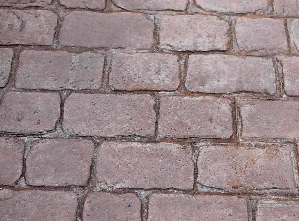 Pattern imprinted concrete cost