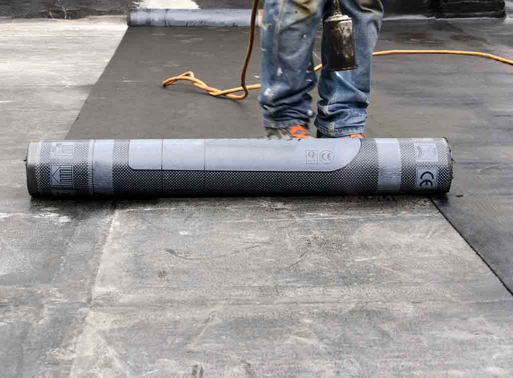 Rubber roof membrane cost
