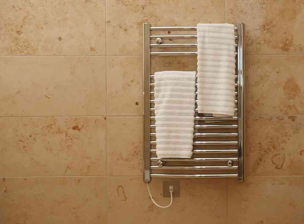 Cost of fitting a heated towel rail