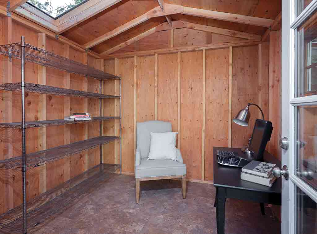 Cost to convert shed to house