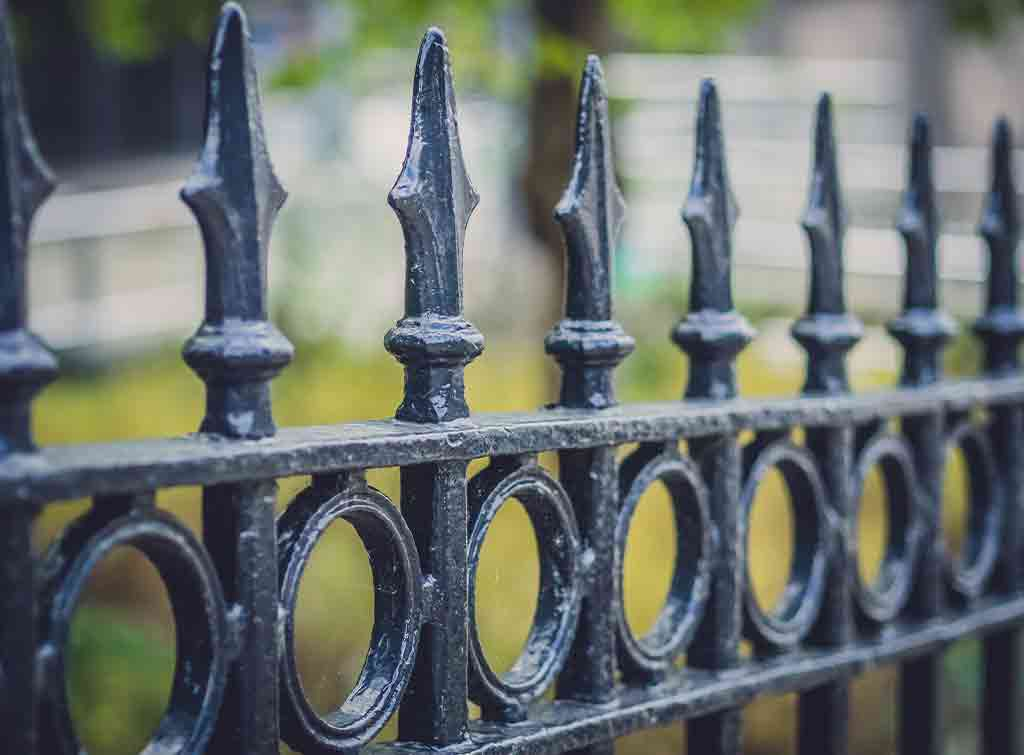 Cost of wrought iron fence