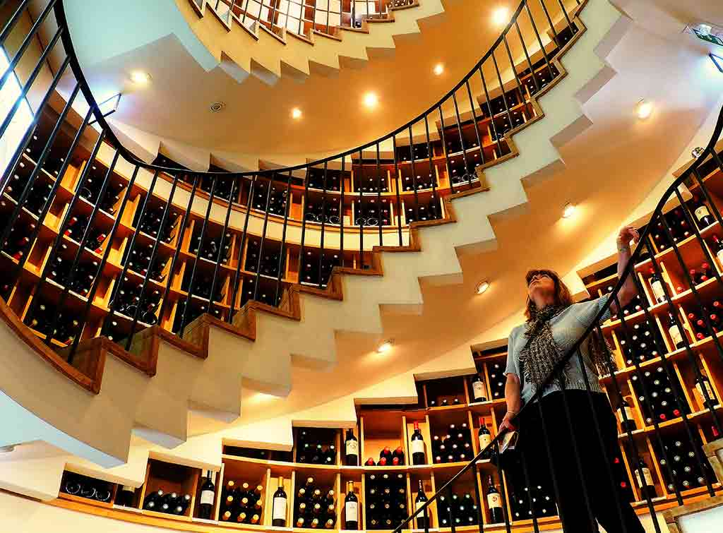 Spiral wine cellar price
