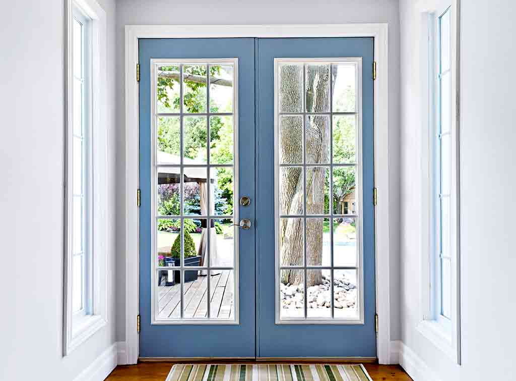 Cost to install French doors in brick wall