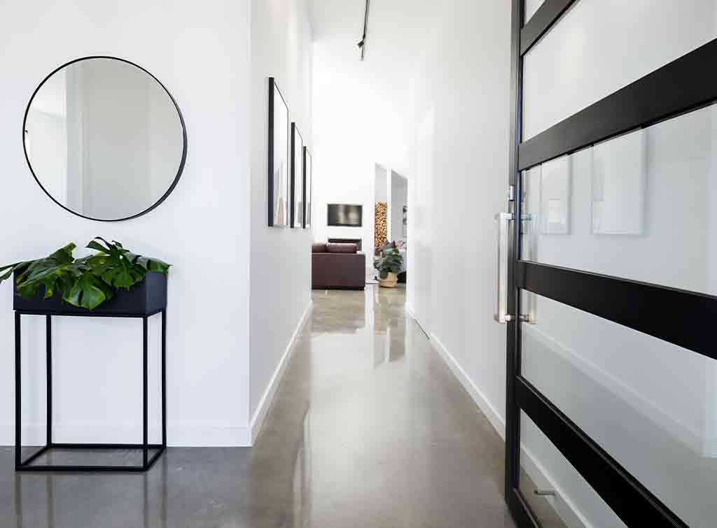 polished concrete floors residential cost