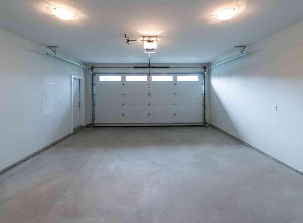 polished concrete garage floor cost