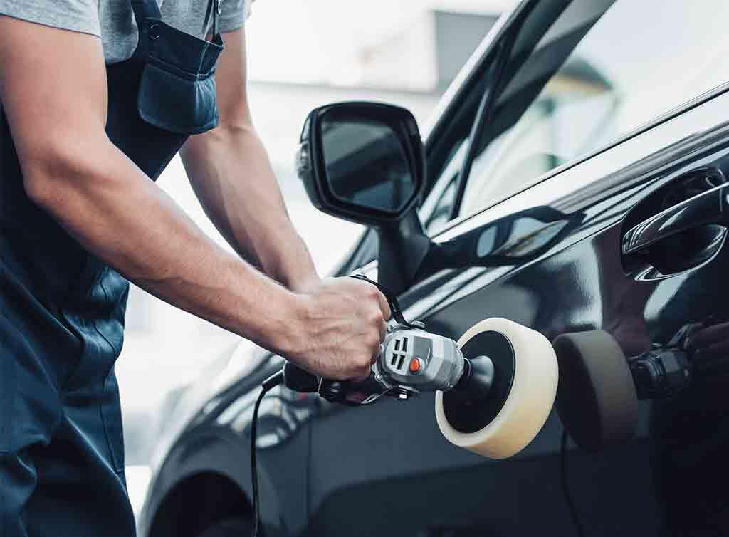 scratch on car door repair cost