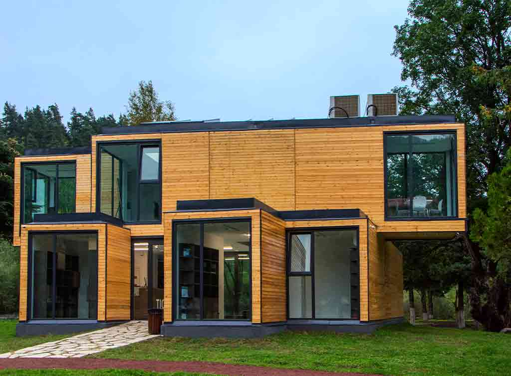 timber frame houses cost of build