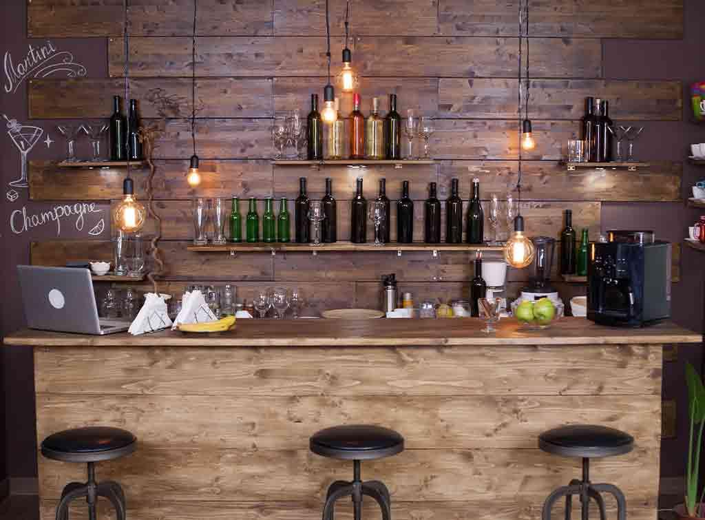 Summer house bar ideas