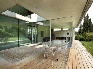 cost of exterior glass walls