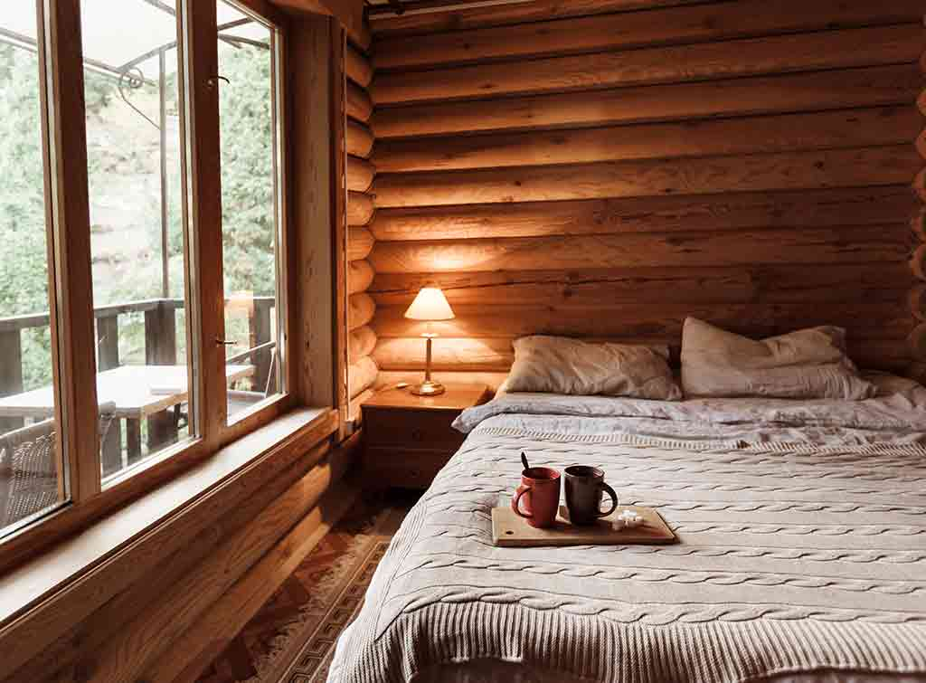 Cost to build a log cabin home