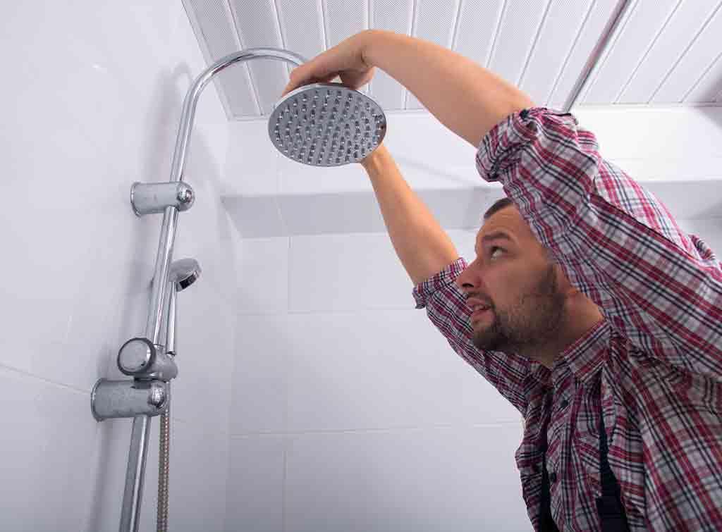 Installing shower head