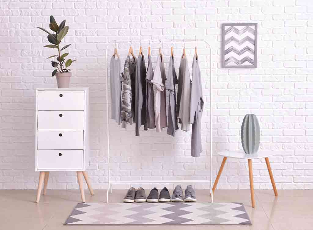 Dressing room ideas for small space conundrums