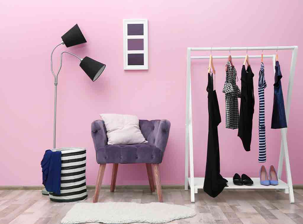 Girly dressing room ideas
