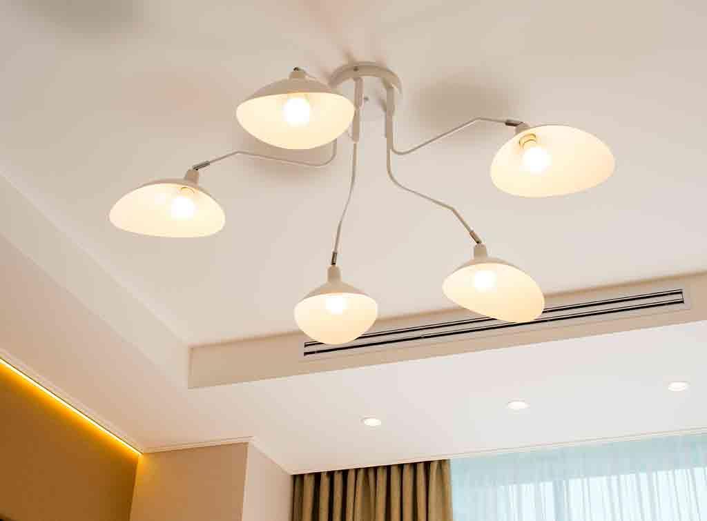 Summer house lighting idea