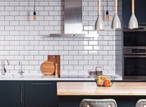 Kitchen splashback wall tiles