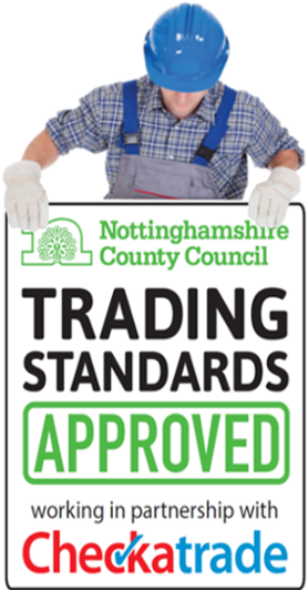 Approved by nottinghamshire County Council Trading Standards