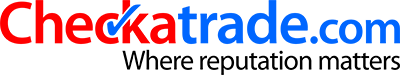 Checkatrade.com logo with strapline